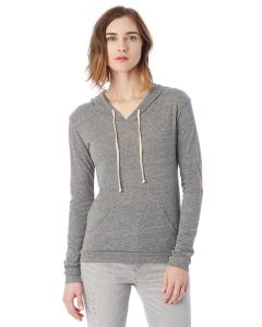 Eco Grey Ladies Eco-Jersey Pullover Hoodie