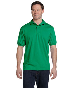 Kelly Green 5.2 oz., 50/50 ComfortBlend® EcoSmart® Jersey Knit Polo