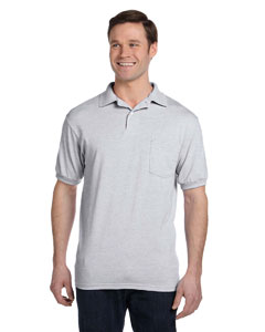 Ash 5.2 oz., 50/50 EcoSmart® Jersey Pocket Polo