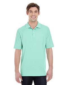 Clean Mint Men's X-Temp Piqué Short-Sleeve Polo with Fresh IQ