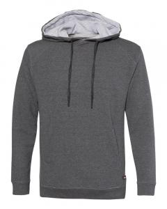 Charcoal FitFlex French Terry Hooded Sweatshirt