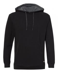 Black FitFlex French Terry Hooded Sweatshirt