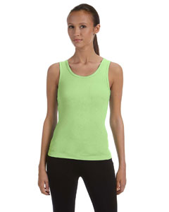 Lime Wedge Women's Baby Rib Tank