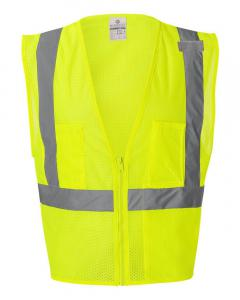 Lime Ultra-Cool™ Mesh Vest with Pockets