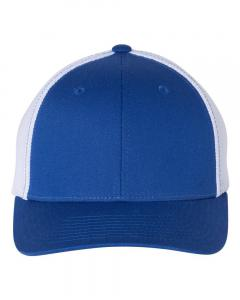 Royal/ White Fitted Trucker with R-Flex