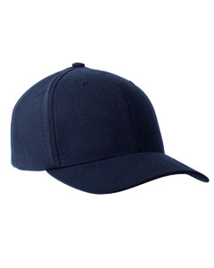 Navy 110 Performance Serge Solid Cap