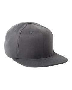 Dark Grey Adult Wool Blend Snapback Cap