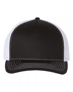 Black/ White Trucker Cap
