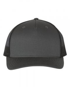 Charcoal/ Black Trucker Cap