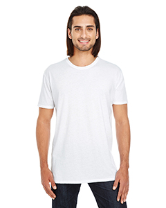 White Unisex Pigment Dye Short-Sleeve T-Shirt