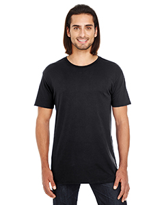 Black Unisex Pigment Dye Short-Sleeve T-Shirt