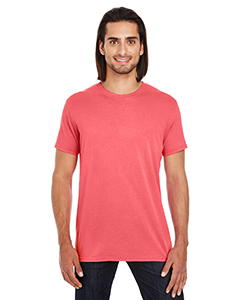 Red Unisex Pigment Dye Short-Sleeve T-Shirt