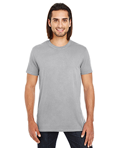 Grey Unisex Pigment Dye Short-Sleeve T-Shirt