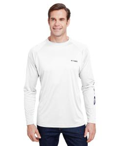 White Terminal Tackle™ Long-Sleeve T-Shirt