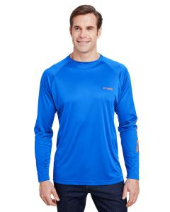 Vivid Blue Terminal Tackle™ Long-Sleeve T-Shirt