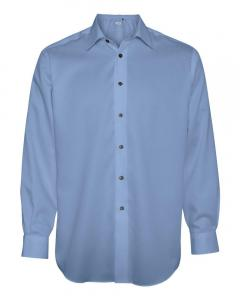 Blue Pearl Adult Non-Iron Dobby Pindot Shirt