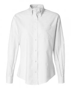 White Women's Oxford Shirt