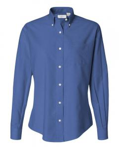 English Blue Women's Oxford Shirt
