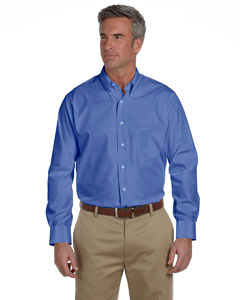Royal Blue Silky Poplin Shirt