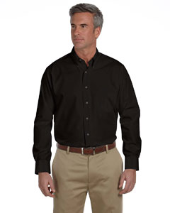Black Silky Poplin Shirt