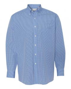 Periwinkle Men's Gingham Check Shirt