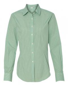 Green Chicory Women's Gingham Check Shirt