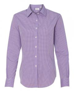 Amethyst Women's Gingham Check Shirt