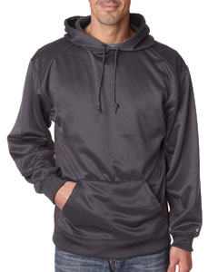 Graphite Adult Performance Fleece Hooded Sweatshirt
