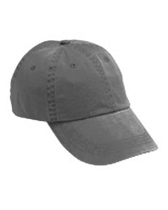 Charcoal Solid Low-Profile Pigment-Dyed Cap