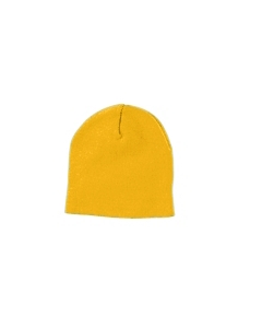 Gold Knit Cap