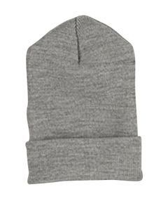 Heather Cuffed Knit Cap