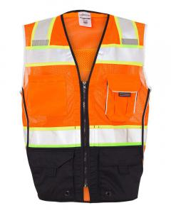 Orange Premium Black Series® Black Bottom Class 2 Vest
