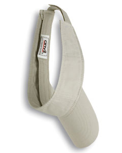 Wheat Adult Solid Low-Profile Twill Visor