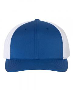 Royal/ White Performance Trucker Cap