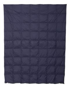 Classic Navy 32 Degrees Packable Down Blanket