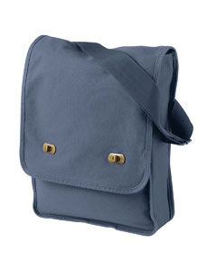Denim 14 oz. Pigment-Dyed Canvas Field Bag