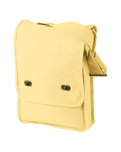 Goldenrod 14 oz. Pigment-Dyed Canvas Field Bag