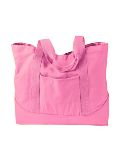Flamingo 14 oz. Pigment-Dyed Large Canvas Tote