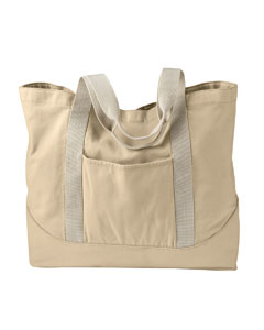 Putty 14 oz. Pigment-Dyed Large Canvas Tote