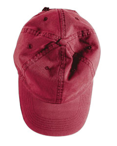 Chili Direct-Dyed Twill Cap
