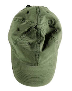 Olive Direct-Dyed Twill Cap