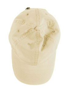 Wheat Direct-Dyed Twill Cap