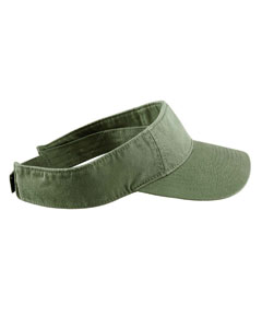 Olive Direct-Dyed Twill Visor
