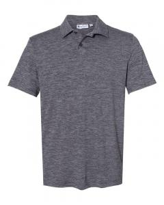 Light Grey/ Black Cool Last Two-Tone Lux Sport Shirt