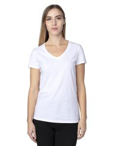 White Ladies' Ultimate V-Neck T-Shirt