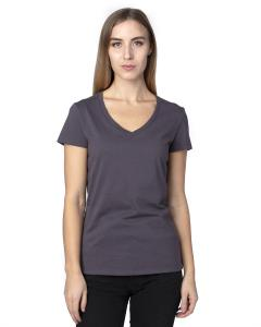 Graphite Ladies' Ultimate V-Neck T-Shirt