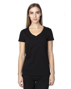 Black Ladies' Ultimate V-Neck T-Shirt