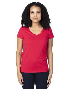 Red Ladies' Ultimate V-Neck T-Shirt