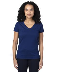 Navy Ladies' Ultimate V-Neck T-Shirt