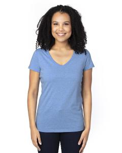 Royal Heather Ladies' Ultimate V-Neck T-Shirt